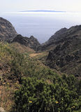 Canyon of Masca, Tenerife. Spain Royalty Free Stock Photo