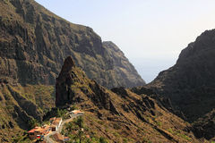 Canyon of Masca, Tenerife. Spain Royalty Free Stock Images