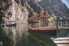 Canyon Matka Macedonia royalty free stock images