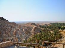Canyon Mides - Tunisia Stock Photo