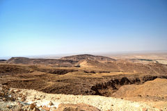 Canyon Mides - Tunisia Stock Images