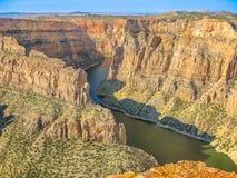 Canyon Montana del diavolo fotografia stock