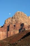 Canyon Moonrise Stock Photography