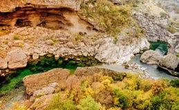 Canyon Moraca in Montenegro, Europe Royalty Free Stock Photos