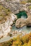 Canyon Moraca in Montenegro, Europe Stock Photos