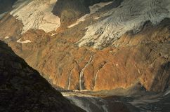Canyon in morning Stock Image