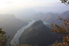 Canyon Mpumalanga Afrique du Sud de rivière de Blyde photos stock