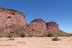Canyon National Park Talampaya Royalty Free Stock Photography