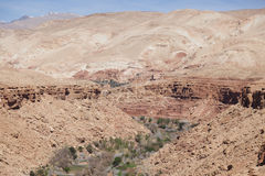 Canyon naturale, Marocco immagine stock