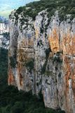 The Canyon in the Navarra spanish region Royalty Free Stock Photo