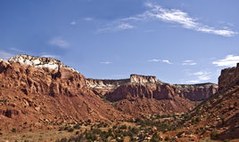 Canyon near Ghost Ranch. This is a canyon near Ghost Ranch and Abiquiu, New Mexico- just north of Santa Fe stock photos