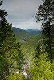 Canyon near Spahats Falls Royalty Free Stock Image