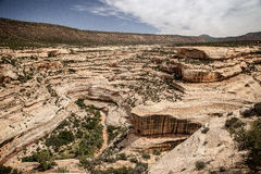 Canyon nell'Utah Fotografia Stock Libera da Diritti