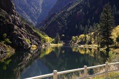 Canyon nero del Gunnison immagine stock libera da diritti