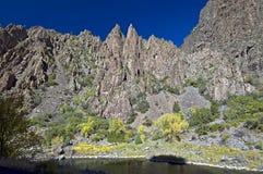 Canyon nero del Gunnison Fotografia Stock Libera da Diritti