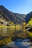 Canyon nero di Gunnison del portale 3 verso est Fotografia Stock Libera da Diritti
