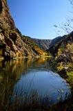 Canyon nero di Gunnison del portale 6 verso est Immagini Stock Libere da Diritti