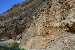 Canyon in Nevada. Cliffs. stock photography