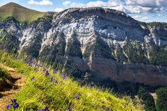 Canyon in Ordesa National Park, Pyrenees, Huesca, Aragon, Spain Royalty Free Stock Photo