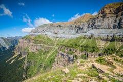 Canyon in Ordesa National Park, Pyrenees, Huesca, Aragon, Spain Royalty Free Stock Photos