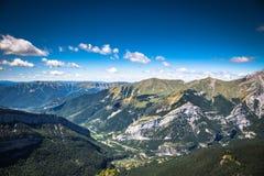 Canyon in Ordesa National Park, Pyrenees, Huesca, Aragon, Spain Stock Images