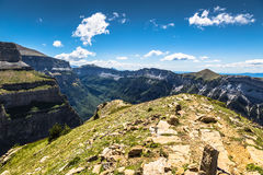Canyon in Ordesa National Park, Pyrenees, Huesca, Aragon, Spain Stock Image