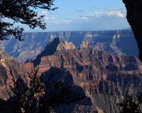 Into the Canyon Royalty Free Stock Photo