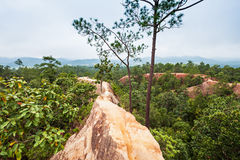 Canyon in Pai Stock Photo