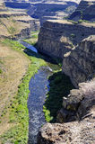 Canyon in Palouse Falls State Park Stock Image