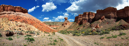 Canyon pano Royalty Free Stock Photos
