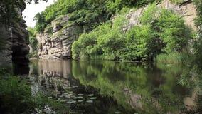Canyon pittoresco video d archivio