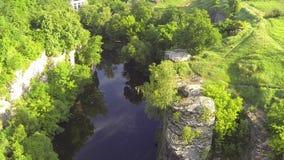 Canyon pittoresco stock footage