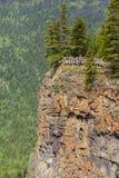 Canyon près des automnes de Spahats Image stock