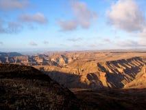 Canyon profondo Fotografia Stock