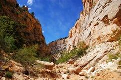 Canyon profondo Fotografia Stock Libera da Diritti