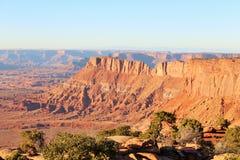 Canyon rim Stock Image