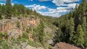 Canyon Rim Trail del sicomoro in Arizona Fotografia Stock Libera da Diritti
