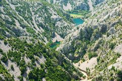 Canyon River Krupa Stock Image