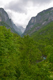Canyon of the river Mrtvica (Sjeverni region, Kolašin), Montenegro Royalty Free Stock Image