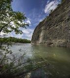 Canyon of the river Piota Royalty Free Stock Photos