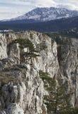 Canyon of river Tara, Montenegro Stock Photo