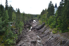 Canyon River Vuoksa Stock Photo