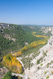 Canyon of the river wolves Royalty Free Stock Photos