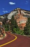 Canyon Road Immagini Stock Libere da Diritti
