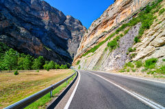 Canyon road Royalty Free Stock Photography