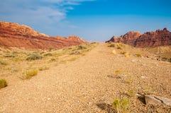 Canyon Road noir Images libres de droits