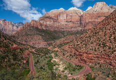 Canyon Road Stock Images