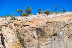 Canyon roccioso Fotografia Stock Libera da Diritti