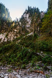 Canyon in romanian mountains Royalty Free Stock Photography