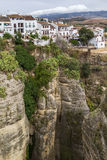 Canyon in Ronda, Spain Royalty Free Stock Photos